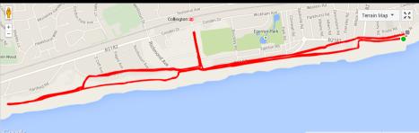 Half Marathon Race Route